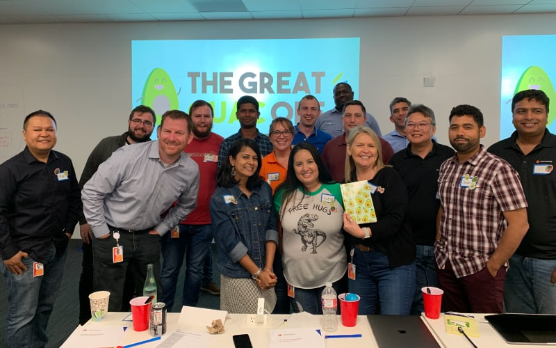 The Great Guac Off offers team building activities in Philadelphia with food.
